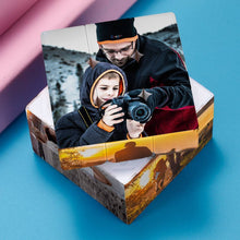 Load image into Gallery viewer, Custom Multi Photo Rubik's Cube - For Mother And Baby