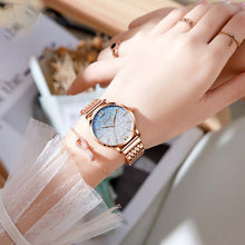 Load image into Gallery viewer, Quartz watch fashion ladies star watch