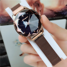 Load image into Gallery viewer, Starry Sky Watch Magnetic Strap Ladies Trendy Watch