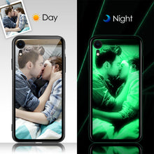 Load image into Gallery viewer, IPhone Xr Custom Noctilucent Photo Protective Phone Case Glass Surface