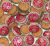 Soda pop bottle caps Lot of 25 CLICQUOT CLUB RASPBERRY cork unused new old stock