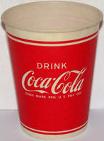 Vintage paper cup DRINK COCA COLA Have a Coke unused new old stock n-mint condition