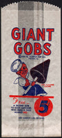 Vintage bag GIANT GOBS ice cream cartoon sailor boy 1935 Vortex Chicago excellent++
