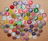 Vintage soda pop bottle caps LOT OF 10000 ALL UNUSED ORIGINALS over 75 different