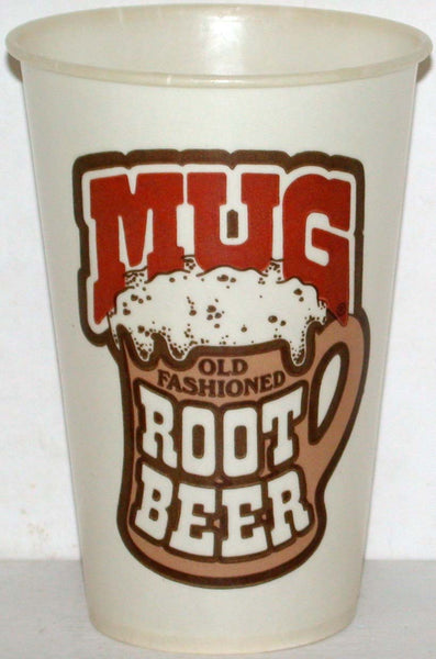 Vintage paper cups MUG ROOT BEER Lot of 2 different 12oz new old stock n-mint+