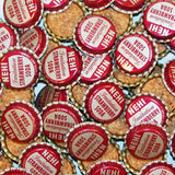 Soda pop bottle caps Lot of 25 NEHI STRAWBERRY cork lined unused new old stock