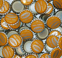 Soda pop bottle caps Lot of 25 WHISTLE PEACH plastic lined unused new old stock