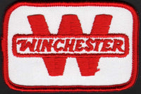 Vintage uniform patch WINCHESTER red and white unused new old stock n-mint+ condition