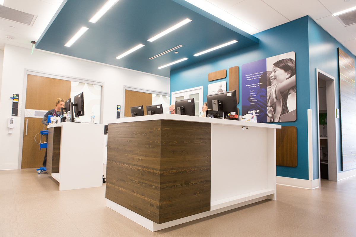 Engineered Panel, Umber | Indigo Urgent Care, Lacey, WA