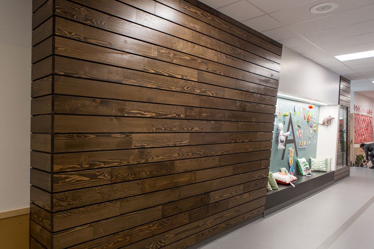 Portland Cladding, Umber | Little Rock Elementary School, WA