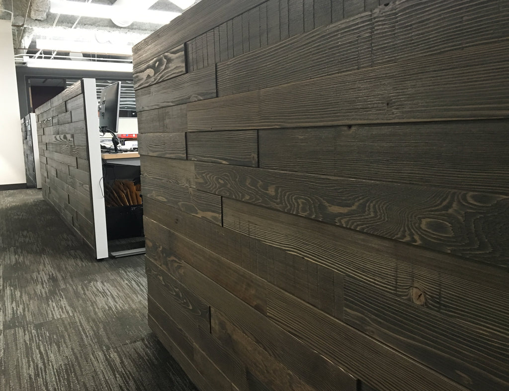 Multi-level Wall, Textured, Leather, Commercial Office Interiors, Seattle, WA