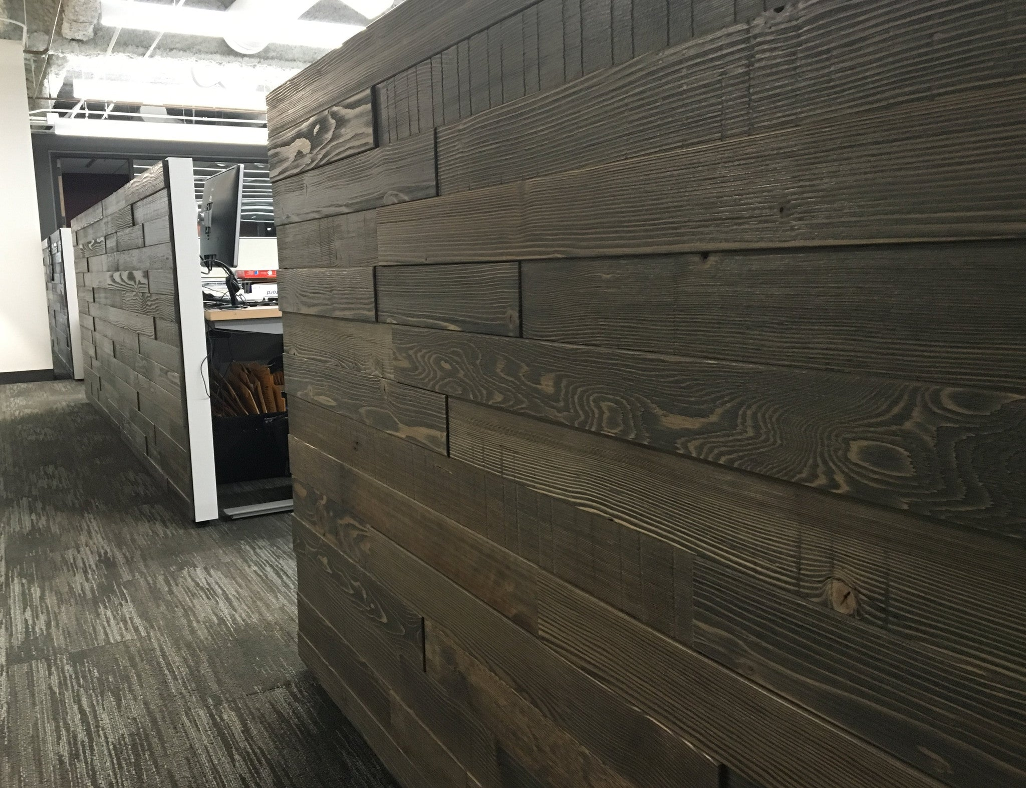 Multi-Level Wall Cladding-Textured | PCC Market Office, Seattle, WA