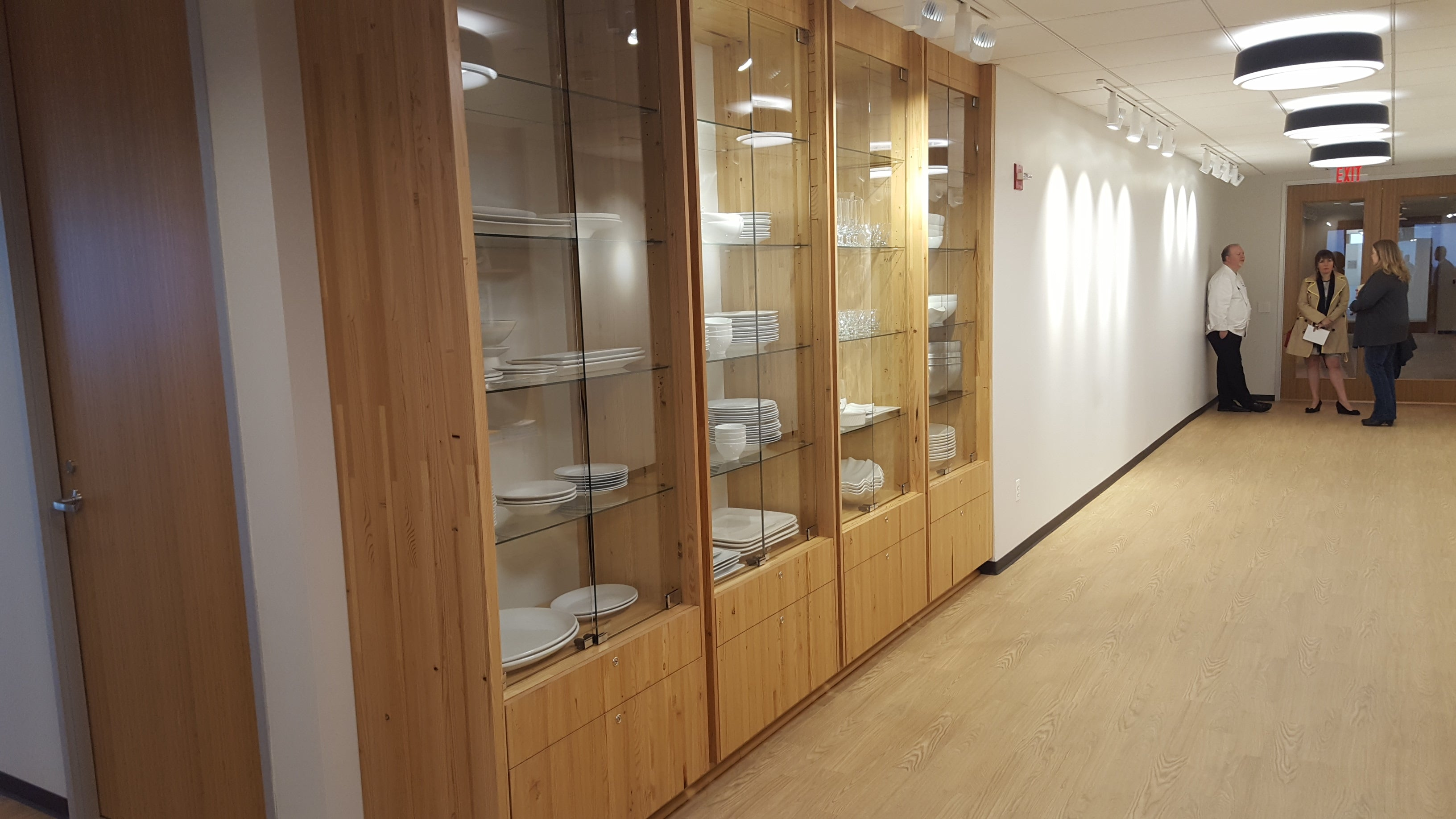 Engineered Panel as Casework | McCain Foods HQ, Oakbrook, IL