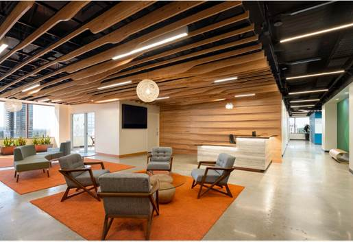 D3 Panels, Wall and Ceiling fins, VMWare, Seattle, WA