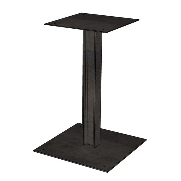 Cafe Pedestal I Beam Table Base Windfall Lumber
