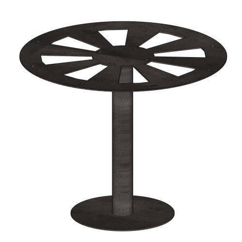Pedestal Pipe Table Base