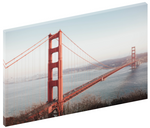 Canvas wall art print of photo of the Golden Gate Bridge as viewed from the Marin Headlands, California by Shannon Strom.