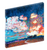 "Canvas print wall art of a beautiful sunset titled ""Tequila Sunset"" by Chiara Magni."