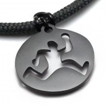 Tarma - Run Trail Guy Pendant