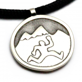 Tarma - Mountain Run Guy Pendant