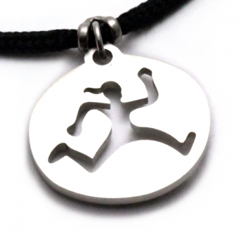 Tarma - Run Trail Gal Pendant