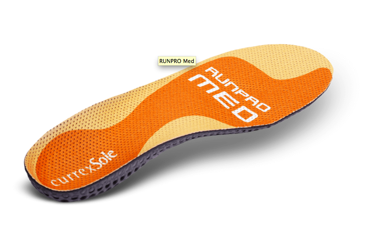 currexSole - Run Pro Med Profile
