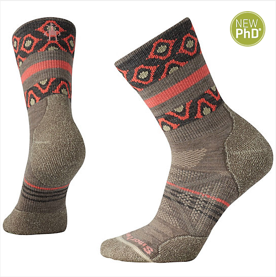 Smartwool - W's PhD Outdoor Light Mid Crew Socks