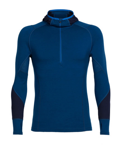 Icebreaker - Winter Zone LS Half Zip Hood