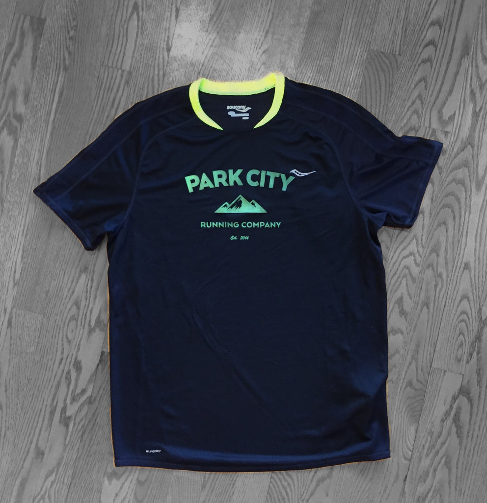 Saucony - Revolution Short Sleeve - Black