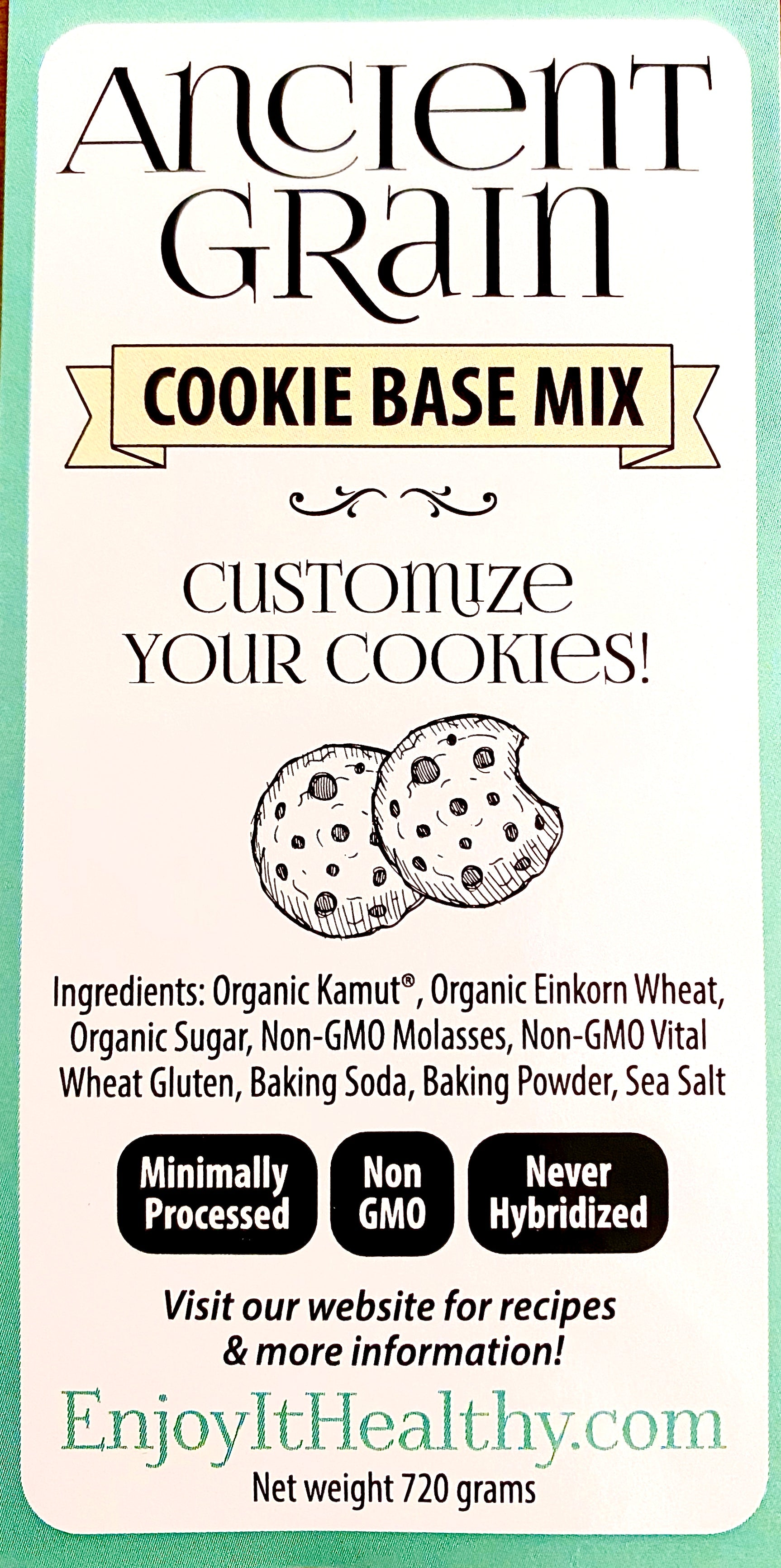 Ancient Grain Cookie Base Mix