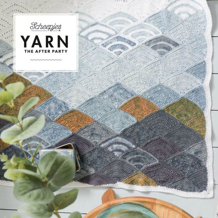 Yarn The After Party - Mountain Clouds Blanket Pattern