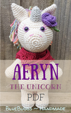 Load image into Gallery viewer, Aeryn the Unicorn - PDF Download Only