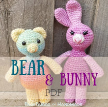 Load image into Gallery viewer, Baby Bear & Bunny - PDF Download Only