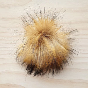 Furling Furry Pom Pom - Snap