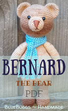 Load image into Gallery viewer, Bernard the Bear - PDF Download Only