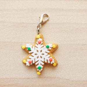 Stitch Markers - Christmas Gingerbread