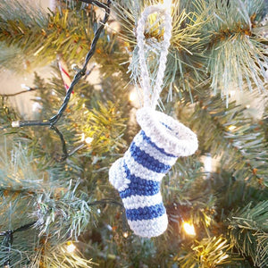 Christmas Crochet: Christmas Stocking Ornament - PDF Download Only