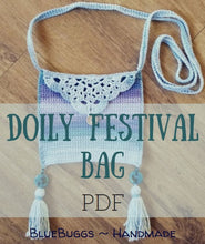 Load image into Gallery viewer, Doily Festival Bag - PDF Download Only