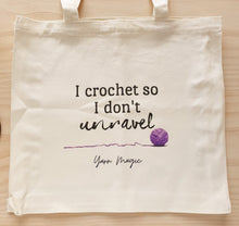 Load image into Gallery viewer, Yarn Magic Designed Tote Bags