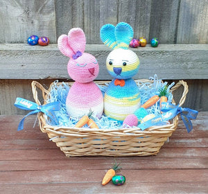 Florentine & Benedict the Easter Egg Bunnies - PDF Download Only