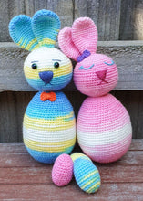 Load image into Gallery viewer, Florentine & Benedict the Easter Egg Bunnies - PDF Download Only