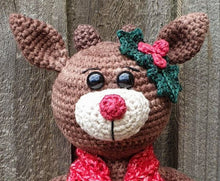 Load image into Gallery viewer, Holly the Reindeer - PDF Download Only