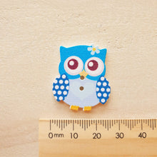 Load image into Gallery viewer, Buttons - Owls Lge