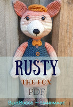 Load image into Gallery viewer, Rusty the Fox - PDF Download Only