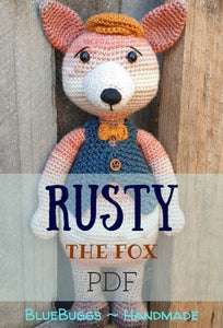 Rusty the Fox - PDF Download Only