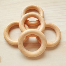 Load image into Gallery viewer, Finished Wooden Rings