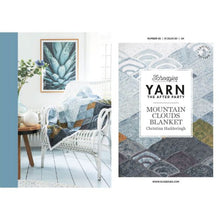 Load image into Gallery viewer, Yarn The After Party - Mountain Clouds Blanket Pattern