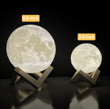 3D Moon Novelty Lamp - THE GOOD TINGZ