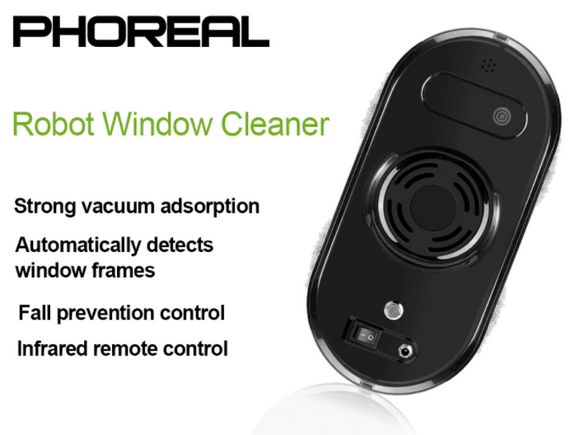 Electric High Suction Window Cleaning Robot - THE GOOD TINGZ