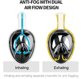 Full Face Anti Fog Scuba Diving Mask with Camera Mount - THE GOOD TINGZ